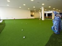Putting green a indoor